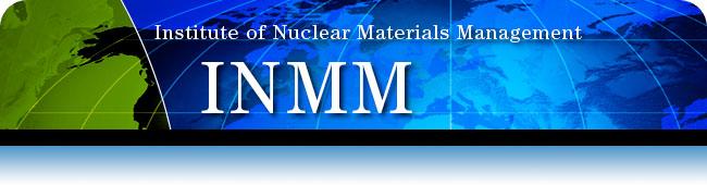 INMM | Institute of Nuclear Materials Management